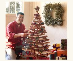 Barrel Stave Christmas Tree