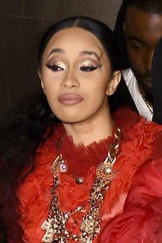 fd68df9ede9c Cardi B Throws Her Shoe At Nicki Minaj At NY Fashion Week For Dissing Her  Daughter Kulture!