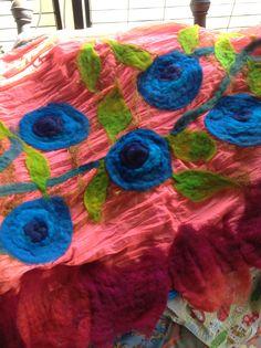 Rosas azules