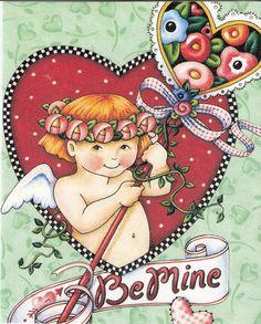 Be Mine  with Mary Engelbreit Artwork
