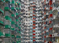 Hong Kong 'living cubicles'
