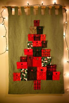 Christmas Tree Advent Calendar by topcraftsdiy