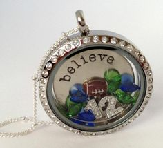 Go Seahawks - Believe - 12th Man  Origami Owl Locket   Order one today -show your love!  http://teresamjohnson.origamiowl.com