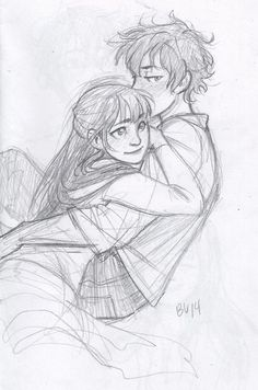Burdge, i just love thoses lovely drawings ! Cute Couple Drawings, Love Drawings, Drawing Sketches, Art Drawings, Drawings Of Couples, Pencil Drawings, Drawing Style, Character Art, Character Design