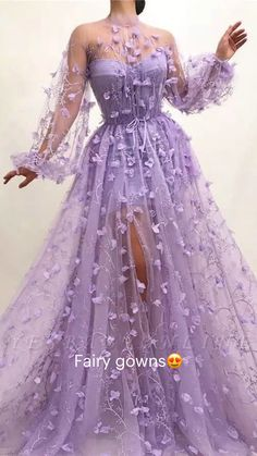 Prom Dresses Long With Sleeves, Prom Outfits, A Line Prom Dresses, Quinceanera Dresses, Ball Dresses, Sexy Dresses, Cute Dresses, Beautiful Dresses, Prom Gowns