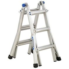 New werner mt 13 foot ladder telescoping 300 pound duty rating multi aluminum Painting Ladders, Hybrid Travel Trailers, Best Ladder, Folding Ladder, Super Cool Stuff, Tools Hardware, Rv Living, House Painting