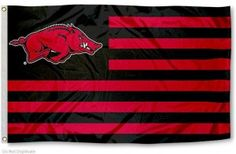Arkansas Razorbacks Nation Flag. We need this ;)