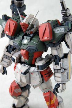 MG 1/100 GAT-X103 Buster Gundam: amazing work by 成真 (成真)