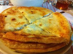 Mizithropita (Cheese pies).... another childhood favorite from my summers in Greece with Yiayia