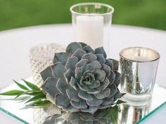 We're gushing over these garden wedding centerpieces just in time for spring and summer!