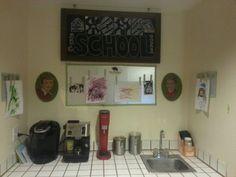 Homeschool classroom nook