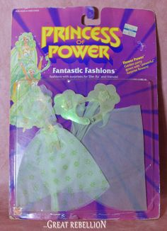 Flower Power: garden party gown with powerful surprise flowers! A Princess of Power Rise and Shine Flower Power Fantastic Fashion, Never