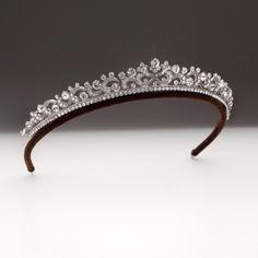 36 Ideas wedding hairstyles with tiara crowns swarovski crystals for 2019 Royal Tiaras, Royal Jewels, Tiaras And Crowns, Crown Jewels, Royal Crowns, Bridal Tiara, Wedding Jewelry, Bridal Headpieces, Wedding Tiaras