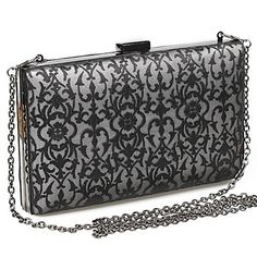 Miss Ricy Women S Fashion Mesh Embroidery Evening Handbag Clutches More Colors