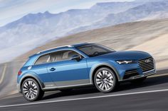 Audi Allroad Shooting Brake Hybride Concept is officieel
