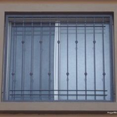 Foto de diseños rejas para ventanas modernas