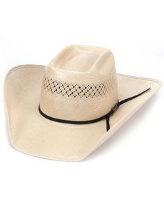 eaacad4bec American Hat Co. American Straw Up North Crease Hat - Black Ribbon Country  Outfitter