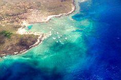 Coastal reefs off of the western Comoros Islands.