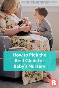 Tips for Choosing a Nursery Glider or Rocking Chair Shopping around for a nursery glider or rocking Funky Painted Furniture, Painted Chairs, Painted Tables, Modern Furniture, Furniture Design, Nursery Signs, Nursery Themes, Nursery Ideas, Glider Rocking Chair