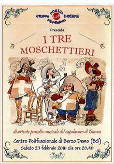 I Tre Moschettieri a Berzo Demo http://www.panesalamina.com/2016/45220-i-tre-moschettieri-a-berzo-demo.html