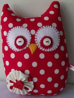 Valentine's Day OwlValentine's Day GiftOwl by PigeonHouseHandmade, $14.50