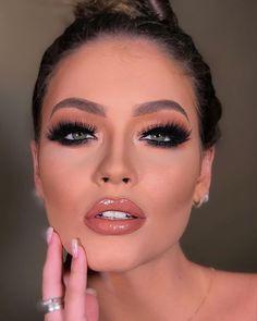Make-up Neue Trends + 100 inspirierende Fotos! - Makeup and Skincare - Make Up Kiss Makeup, Glam Makeup, Pretty Makeup, Love Makeup, Hair Makeup, Indie Makeup, Makeup Eyes, Make Up Looks, Eye Makeup Tips