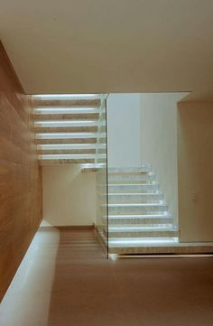 I love this stairs, especially for the basement so can see cellar as we walk down the stairs. Exterior Design, Interior And Exterior, Floating Staircase, Modern Stairs, Stair Steps, Interior Stairs, House Stairs, Staircase Design, Stairways
