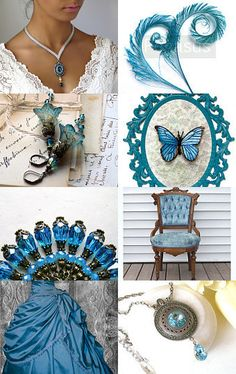Victorian blue    by Gilberto Vavalà on Etsy--Pinned with TreasuryPin.com
