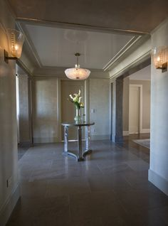 NYC townhouse: walls done with American Clay