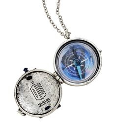 Doctor Who TARDIS Compass Necklace