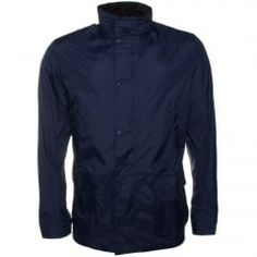 Barbour Lifestyle Mens Navy Oreboat Casual Jacket