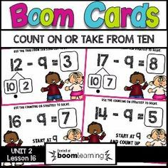 Boom Cards - MAKE A TEN TO HELP YOU SOLVE
