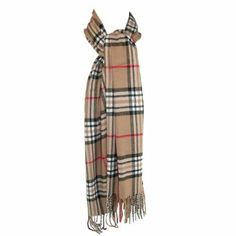 Unisex Rrp £33 Fraas Luxurious Black 100% Wool Scarf Boxed V