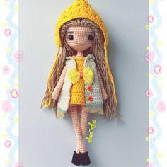 #amigurumi #crochet #cute #handmade #girl #gift #jibsoya