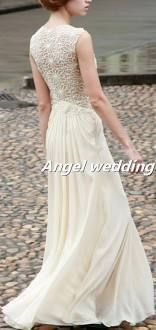 Custom Wedding Dress Vintage Lace Wedding Dress Bridal Gown Vintage Gown Bridesmaid Dress Evening Prom Dress