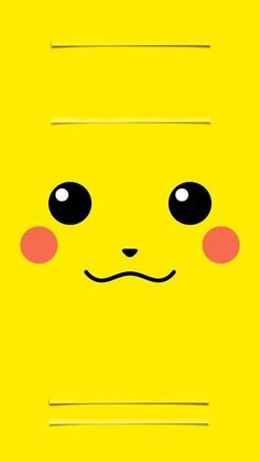 ↑↑TAP AND GET THE FREE APP! Lockscreens Art Creative Pikachu Pokemon Cartoon Yellow HD iPhone 6 Plus Lock Screen