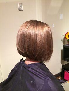 Soft Bob Haircut. Beauty By Allison. Fort Collins Hair. Salon Salon
