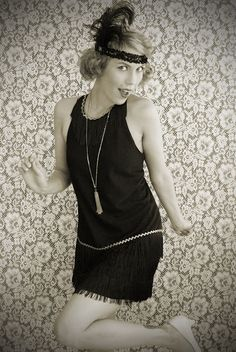 DIY Flapper Dress Costume