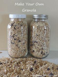 images about Granola on Pinterest | Homemade granola recipe, Granola ...