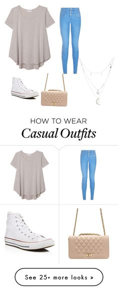 """Casual summer outfit"" by aaliyah4944 on Polyvore featuring Olive + Oak, Converse and Charlotte Russe"