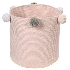 cesta bebé bubbly rosa de lorena canals