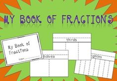 Have students create their own book of fractions! Useful for understand the relationships between different fractions!
