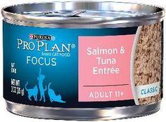 Pro Plan Senior 11+ Salmon/Tuna Cat Can