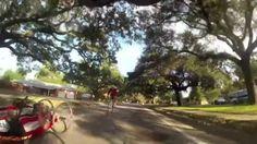 David Turbyfill in 2013, 4th annual Pensacola Marathon Hand Cycle division, winner David Mayo, Pensacola Florida US Military Cycling