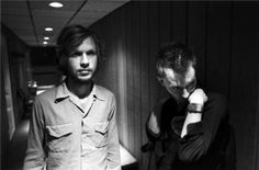 Beck and Thom York - awesomepeoplehangingouttogether.com