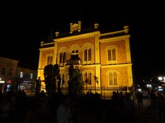 The Orthodox Bishop's Palace by Night