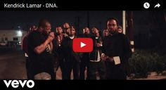 Watch: Kendrick Lamar - DNA. See lyrics here: http://kendricklamarlyrics.blogspot.com/2017/05/dna-lyrics-kendrick-lamar.html #lyricsdome