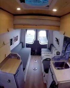 Interior Trailer, Camper Interior Design, Campervan Interior, Diy Interior, Volkswagen Bus Interior, Campervan Bed, Motorhome Interior, Bathroom Interior, Teardrop Camper Interior