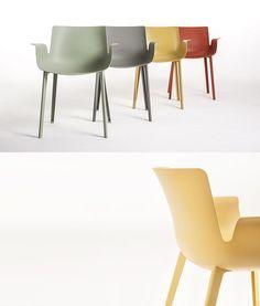 Jeszcze jedna nowość firmy Kartell  z Salone del Mobile 2016 w Mediolanie - krzesło Piuma projektu Piero Lissoni. Już wkrótce na Designisgood.pl