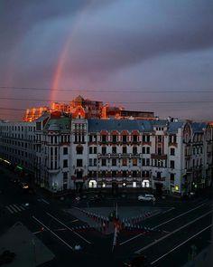 Австрийская площадь, СПб., Россия